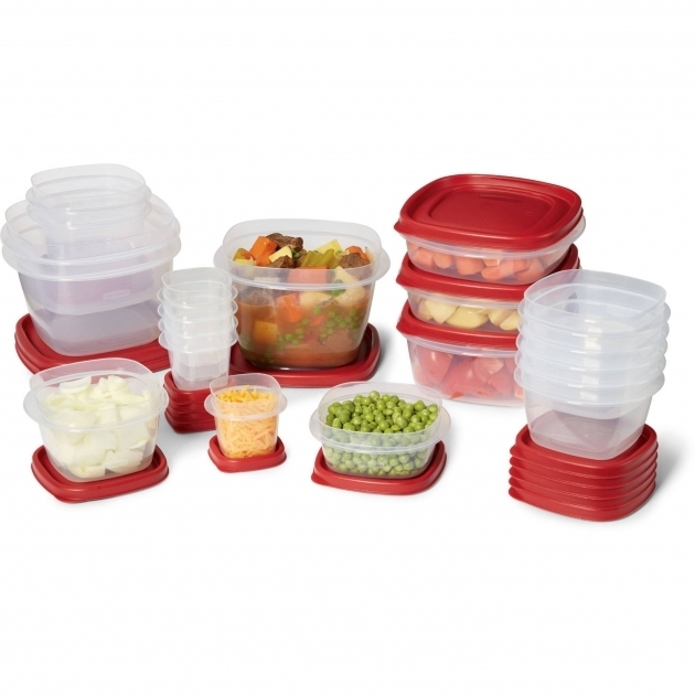 Awesome Rubbermaid 40 Piece Easy Find Lid Food Storage Set Walmart Rubbermaid Kitchen Storage Containers