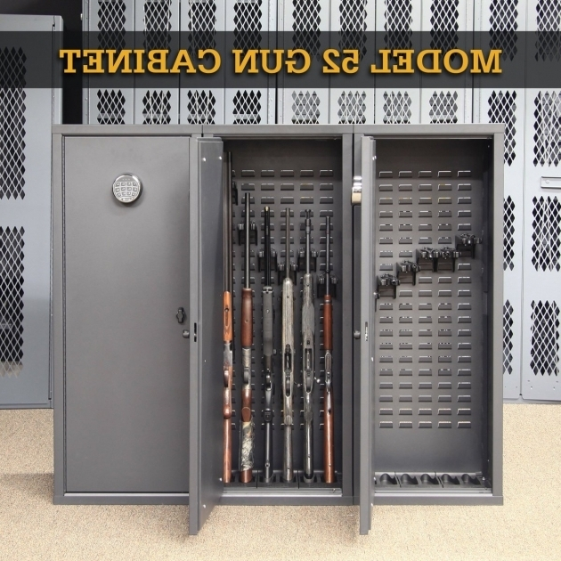 Secureit Tactical Model 52 Six Gun Storage Cabinet - Storage Designs