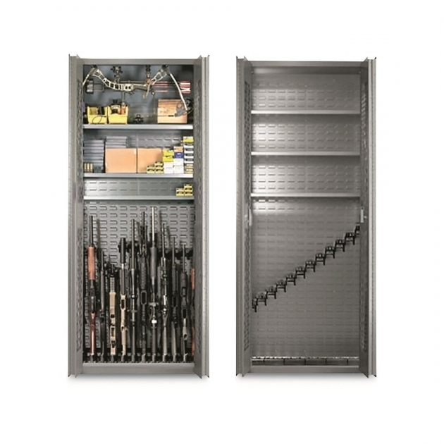 Best Secureit Tactical Model 84 12 Gun Storage Cabinet 690349 Gun ...