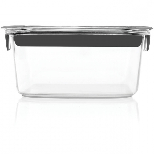 Fascinating Rubbermaid Brilliance Food Storage Container Multiple Sizes Rubbermaid Brilliance Food Storage Container Large 9.6 Cup Clear