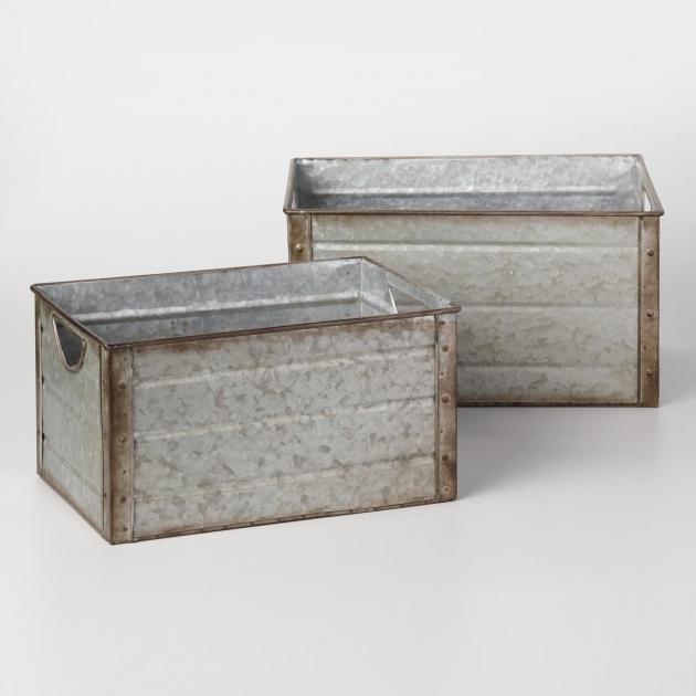 Galvanized Storage Bins Storage Designs