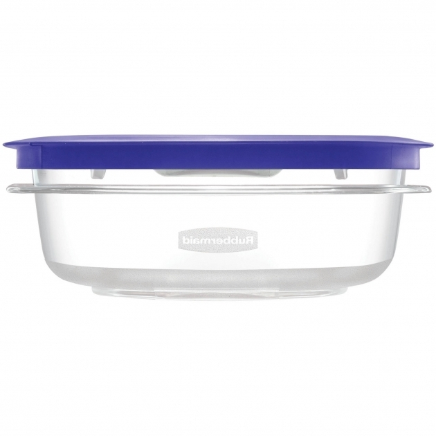 Gorgeous Rubbermaid Containers Rubbermaid Brilliance Food Storage Container Large 9.6 Cup Clear