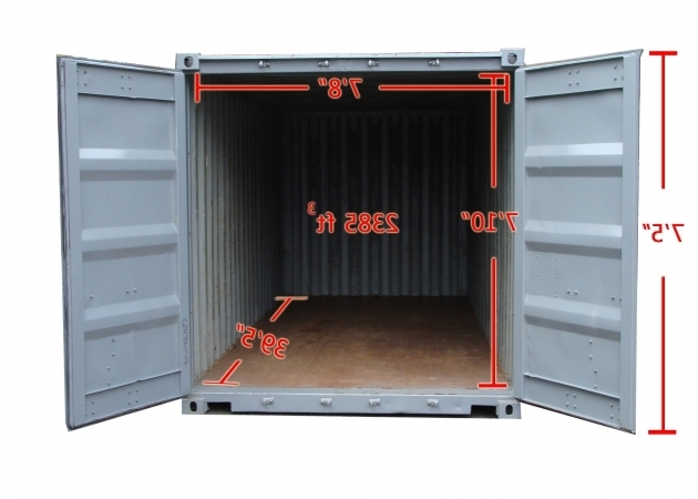 Image of 40 Storage Container Commercial Storage Container Rentals Pod Storage Containers