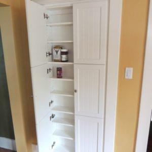 Shallow Storage Cabinet