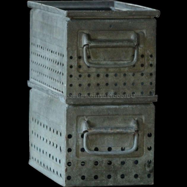 Image of Galvanized Metal Storage Bins 1 Gallery Of Storage Sheds Bench Galvanized Storage Bins