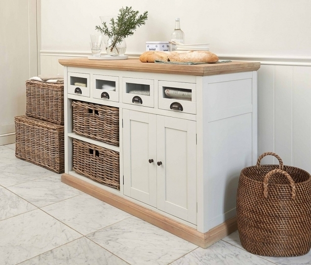 Image of Kitchen Lovely Kitchen Idea With Cabinet Storage And Wicker Wicker Storage Cabinets