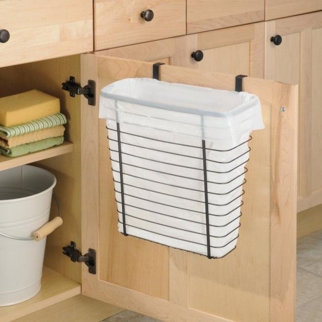 Image of Kitchen Utensils 20 Ideas Kitchen Trash Can Cabinet White Trash Bin Storage Cabinet