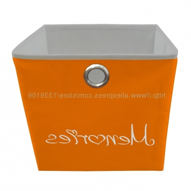 Image of Online Get Cheap Orange Storage Bin Aliexpress Alibaba Group Orange Storage Bins