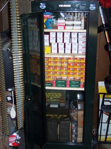 Image of Sentry 8 Gun Secuity Cabinet For Ammo Storage Ammunition Storage Cabinet
