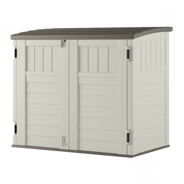 Image of Shop Small Outdoor Storage At Lowes Suncast Storage Cabinets