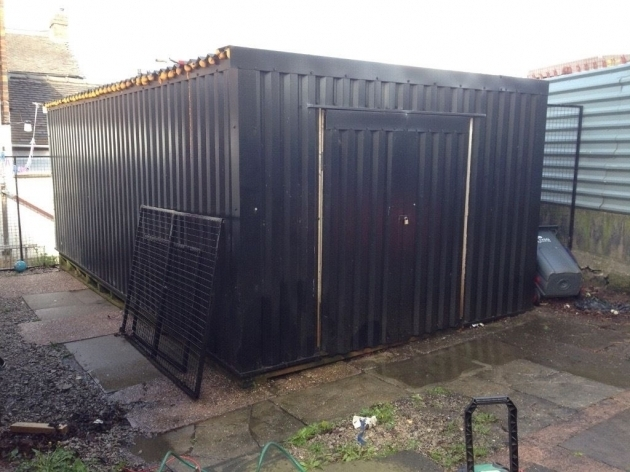 Image of Storage Container Large Metal Wood Interior In Stoke On Trent Large Metal Storage Containers