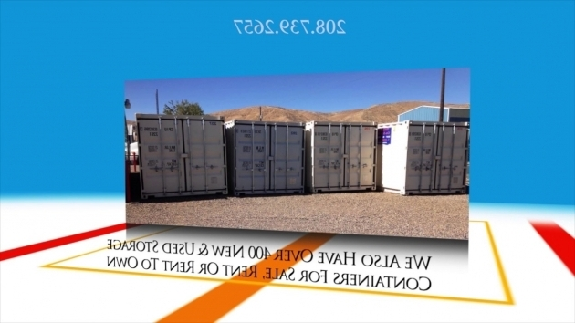 Image of Storage Containers In Idaho Treasure Valley On Site Storage On Site Storage Containers