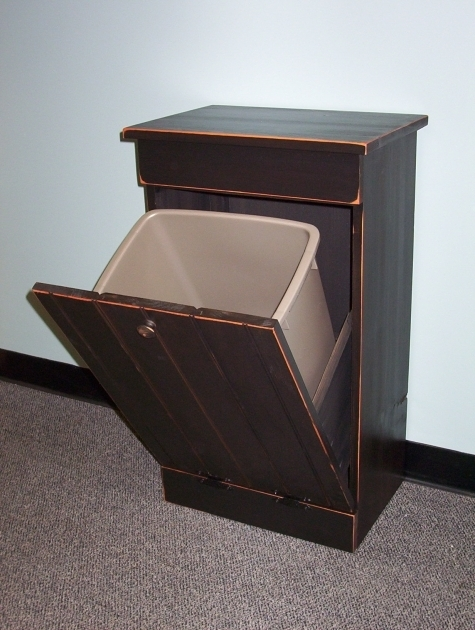 Image of Tips Customize Your Kitchen Cabinet With Tilt Out Trash Bin Tilt Out Trash Bin Storage Cabinet