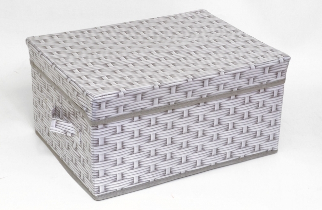 ... Incredible Fabric Lid Boxes Crafthubs Canvas Storage Bins With Lids ...