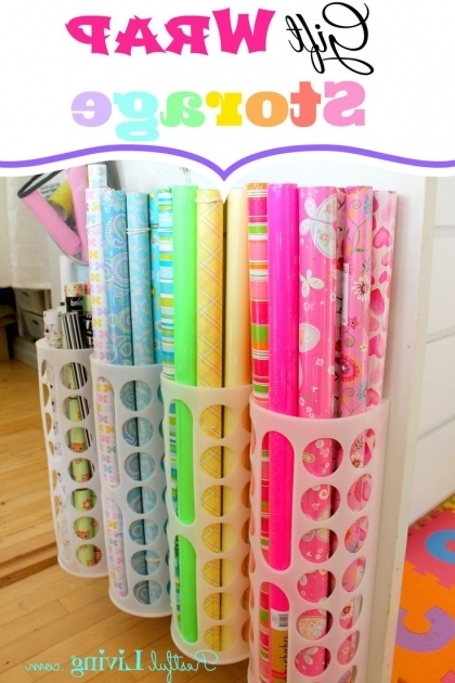 Inspiring 25 Best Ideas About Wrapping Paper Storage On Pinterest Gift Container Store Wrapping Paper Storage