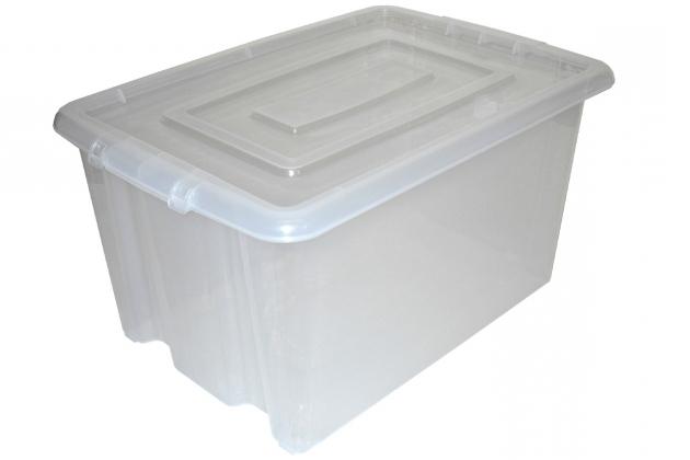 large clear storage bins storage designs. Black Bedroom Furniture Sets. Home Design Ideas