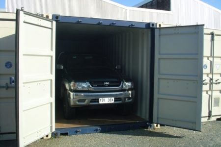 Vehicle Storage Containers