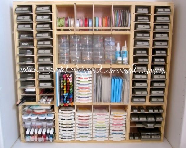 Inspiring Sharon39s Scrappy Space Punch Storage Premier Scrapbook Design Scrapbook Storage Cabinets