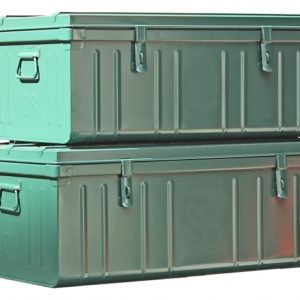Large Metal Storage Containers