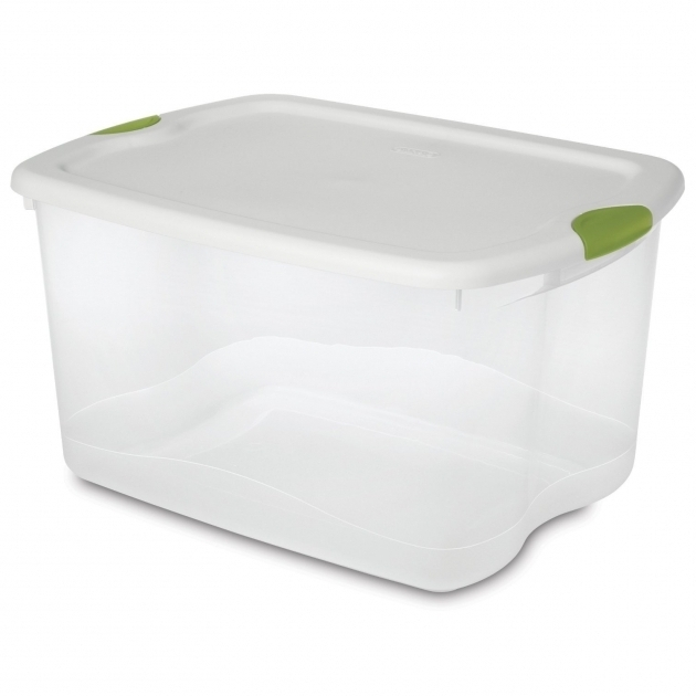 Inspiring Storage White And Grey Plastic Storage Boxes With Dynamic Design Airtight Storage Bins