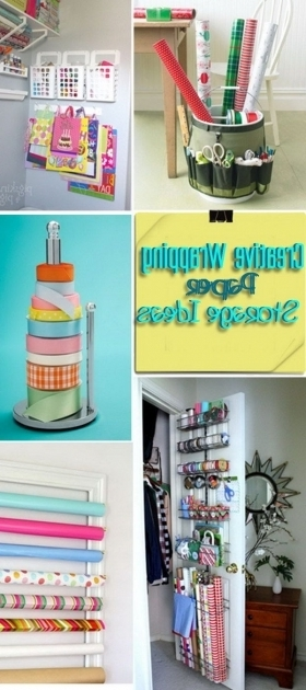 Marvelous 25 Best Ideas About Wrapping Paper Storage On Pinterest Gift Container Store Wrapping Paper Storage