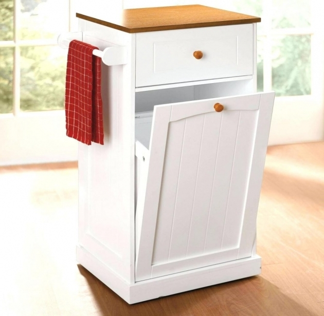 Outstanding Trash Can For Kitchen City Trash Can Trash Bin Storage Cabinet