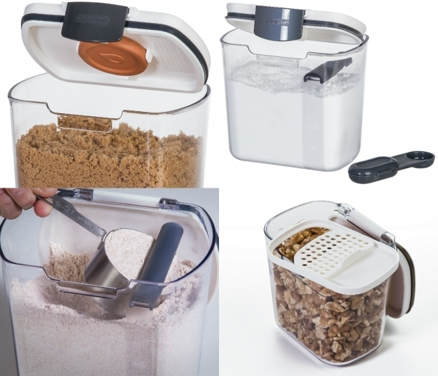 Picture of Food Storage Containers That Do More Than Just Store Kitchenware Flour Storage Containers