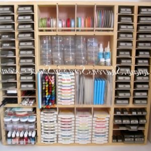 Scrapbooking Storage Cabinet