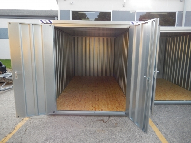 Picture of Temporary Portable Storage Unitpod Rental Iowa City Cr Large Metal Storage Containers