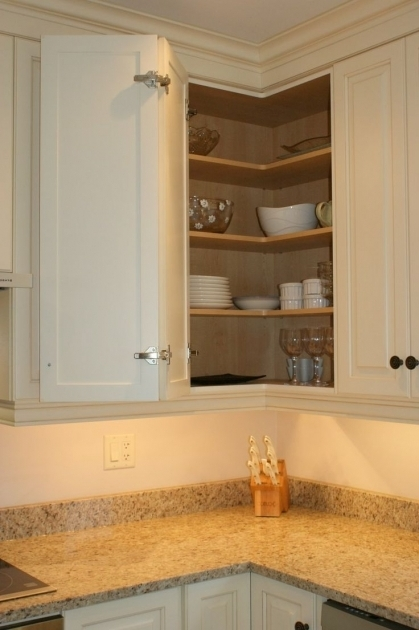 Picture of Upper Corner Kitchen Cabinet Storage Kitchen Pinterest Upper Corner Kitchen Cabinet Storage Solutions