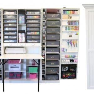 Arts And Crafts Storage Cabinet