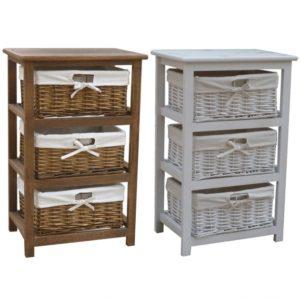Wicker Storage Cabinets