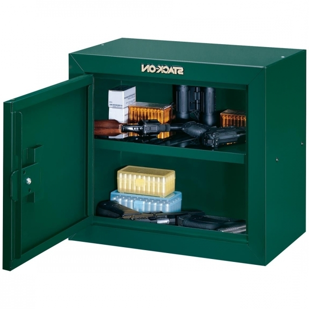 Remarkable Stack On Pistol Ammo Security Cabinet 616692 Gun Cabinets Ammo Storage Cabinets