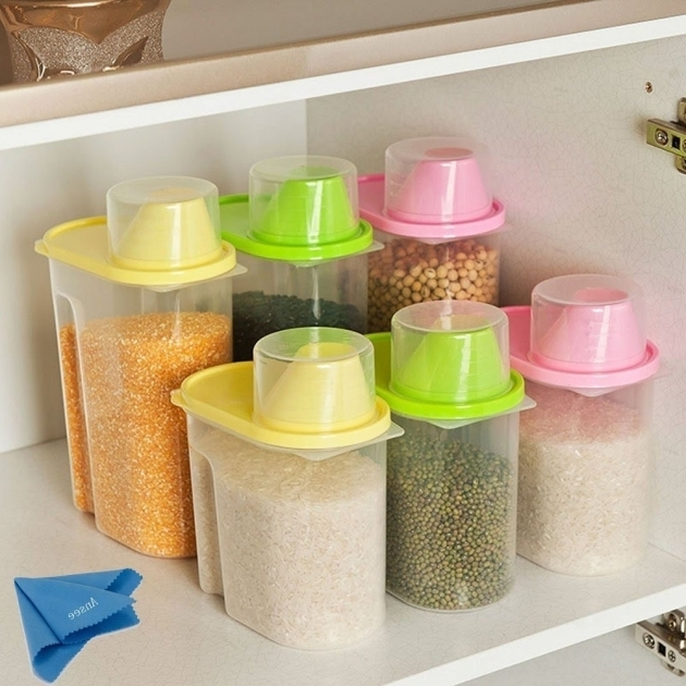Stunning Best Ansee Plastic Storage Cereal Containers Transparent Sealed Best Plastic Food Storage Containers