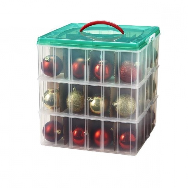 Stunning Shop Snap N Stacksuptmsup 3 Tier Ornament Storage Box At Ornament Storage Containers