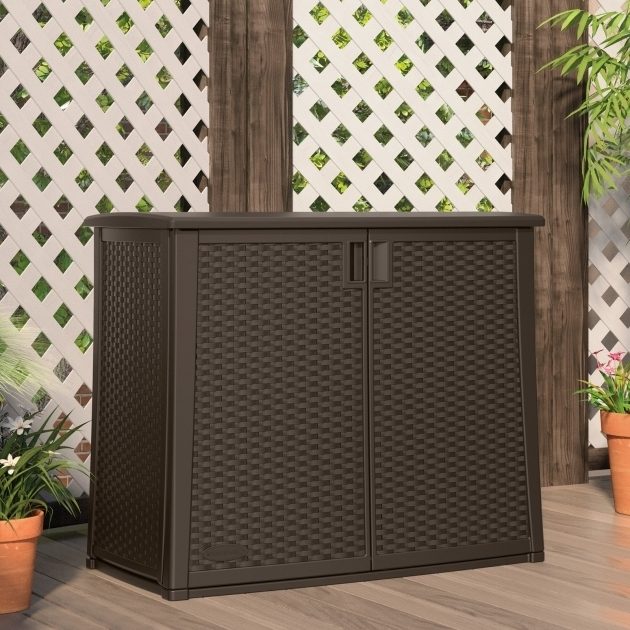 Stylish Suncast Elements Club Chair With Storage Outdoor Lounge Chairs Suncast Storage Cabinets