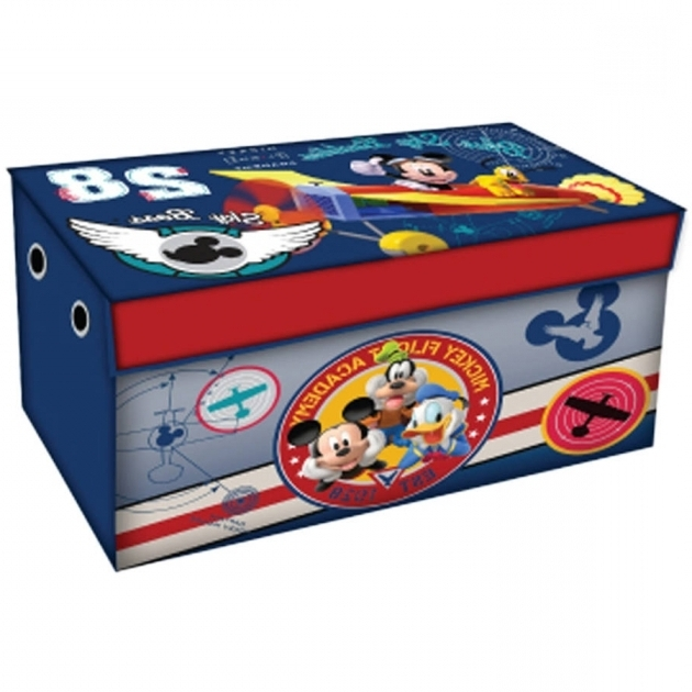 Alluring Disney Mickey Mouse Room In A Box With Bonus Toy Bin Walmart Mickey Mouse Storage Bins