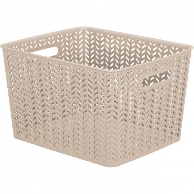 Amazing Baskets Bins Walmart Plastic Cube Storage Bin