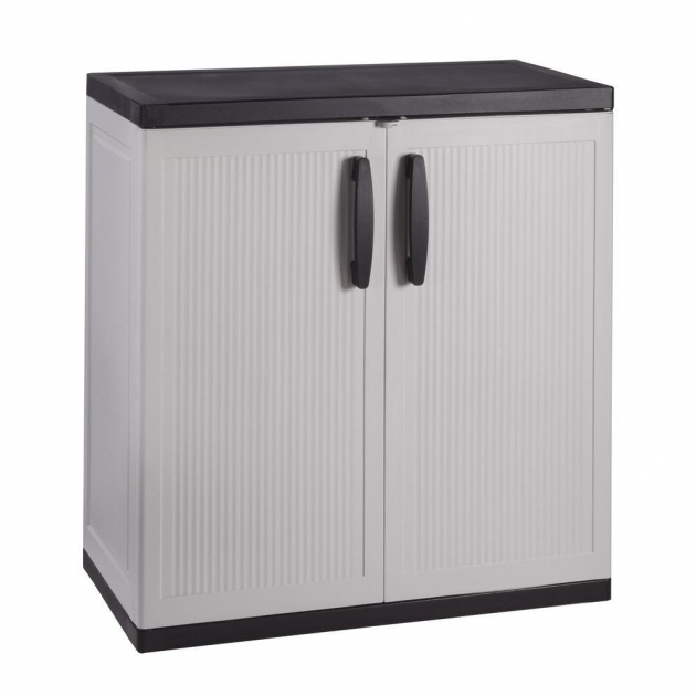 ... Amazing Plastic Free Standing Cabinets Garage Cabinets Storage Plastic  Garage Storage Cabinets ...