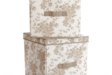 Fabric Storage Bins With Lids