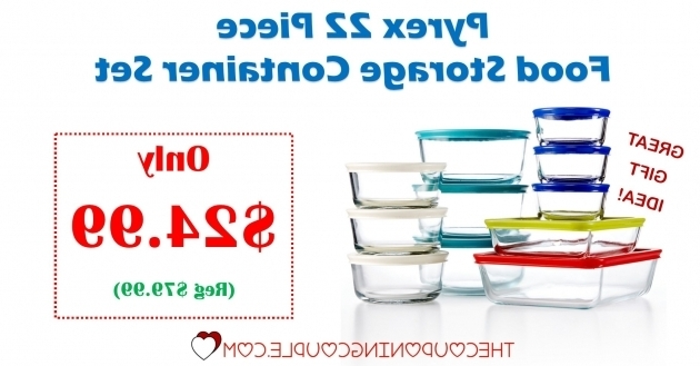 Awesome Pyrex 22 Piece Food Storage Container Set Only 2499 Reg 7999 Pyrex 22 Piece Food Storage Container Set