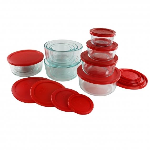 Awesome Pyrex Simply Store Nesting Glass 18 Container Food Storage Set Pyrex 22 Piece Food Storage Container Set
