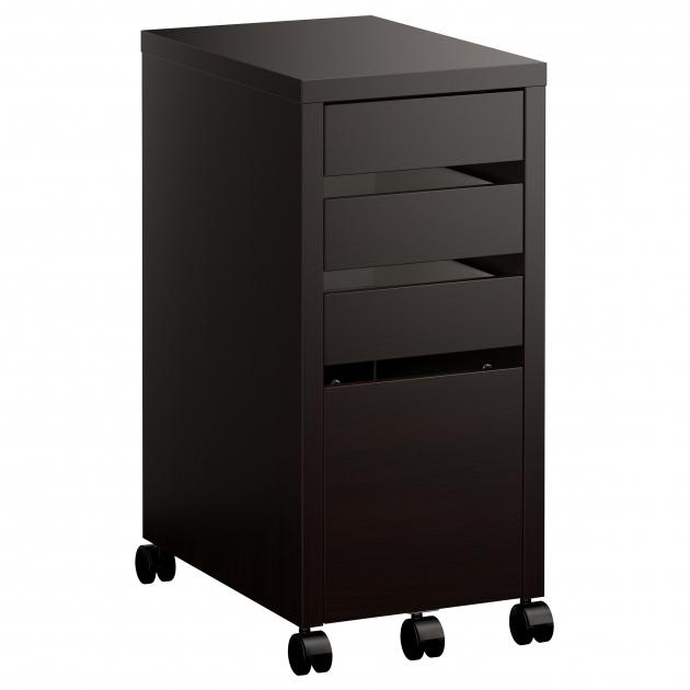 Best Micke Drawer Unitdrop File Storage Black Brown Ikea Rolling Storage Cabinet With Drawers