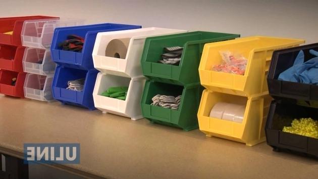 Best Uline Plastic Stackable Bins Youtube Uline Storage Bins
