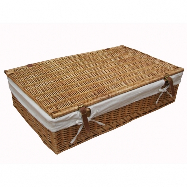 Fantastic Bedroom Large Underbed Storage Box Underbed Storage Basket Under The Bed Storage Bins