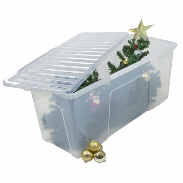 Fantastic Christmas Tree Container Plastic Christmas Ornament Storage Container