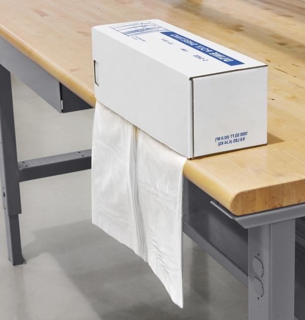 Fantastic Clear Poly Sheeting In Dispenser Box 2 Mil 10 X 100 S 5455 Uline Storage Bins