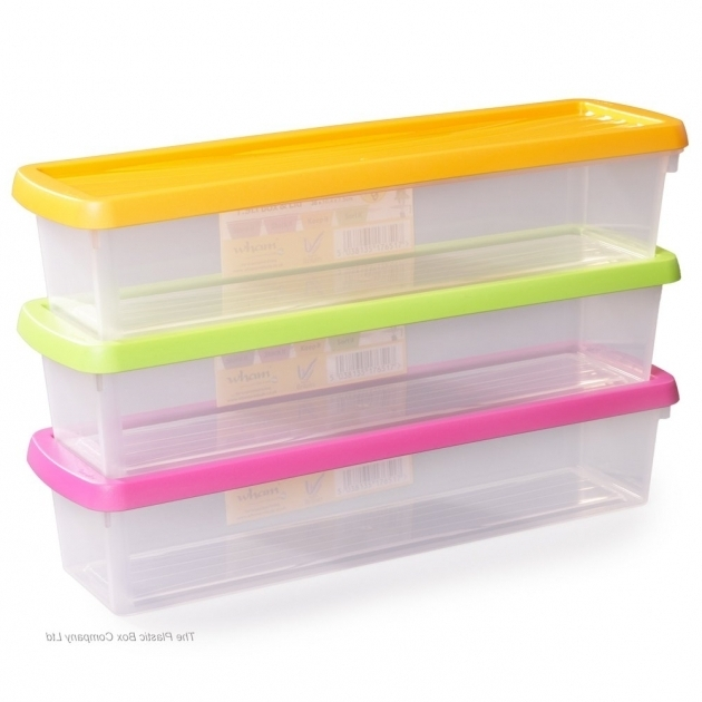 Fantastic Long Plastic Containers Iris Usa 105000 30 Wrapping Paper Long Plastic Storage Bins
