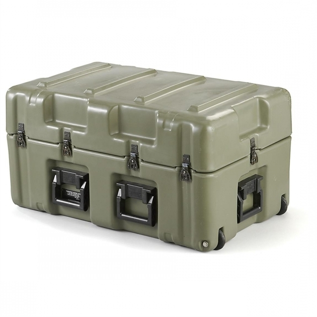 Fantastic Used Us Military Surplus Hardigg Wheeled Storage Case 607550 Wheeled Storage Containers