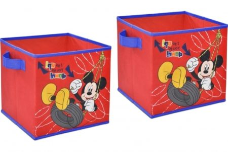Mickey Mouse Storage Bins